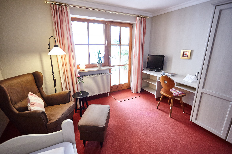 Landhaus König | Einzelzimmer mit Balkon